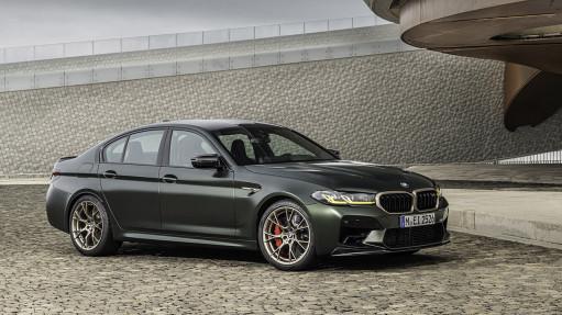Новый BMW M5 CS